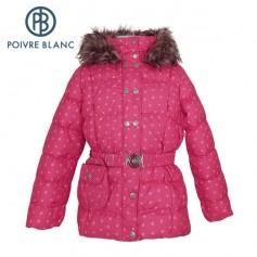 Doudoune POIVRE BLANC W13-1208 BBGL/A Rose BB Fille