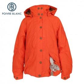 Veste de ski POIVRE BLANC Short Jacket Flamme Filles