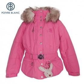 Veste de ski POIVRE BLANC Jacket Rose BB Filles