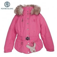 Veste de ski POIVRE BLANC W13-1000 BBGL/A Rose BB Filles