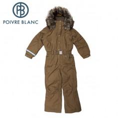Combinaison de ski POIVRE BLANC W13-1030 BBGL/A Havane BB Fille