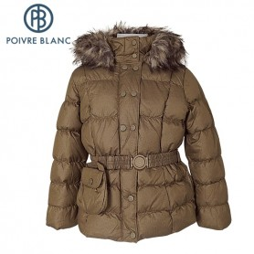 Doudoune POIVRE BLANC Down Jkt Or BB Fille