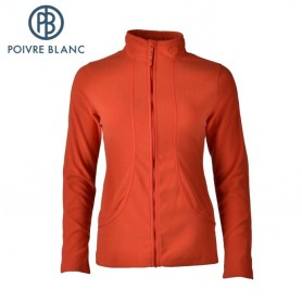 Polaire POIVRE BLANC One Side Fleece Jkt Flamme Femme
