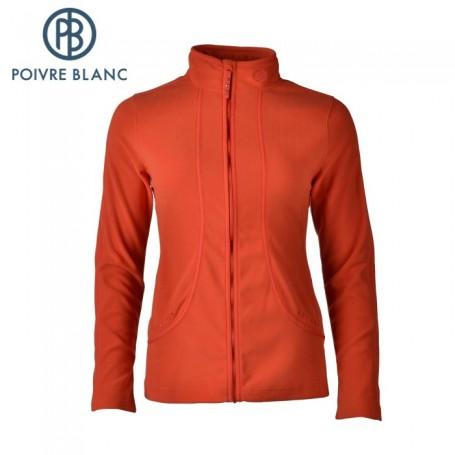 Polaire POIVRE BLANC W13-1500-WO Orange Femme
