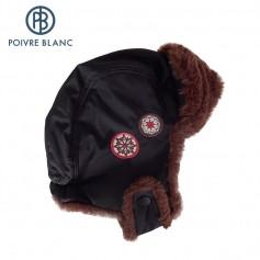 Chapka POIVRE BLANC Hat Noir BB Unisexe