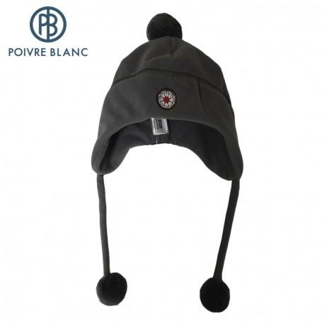 Bonnet polaire péruvien POIVRE BLANC Titan BB Fille