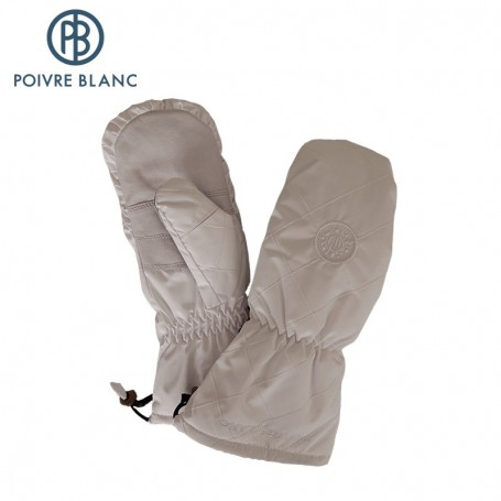 Moufles de ski POIVRE BLANC W13-1072-WO/A Blanc Femme