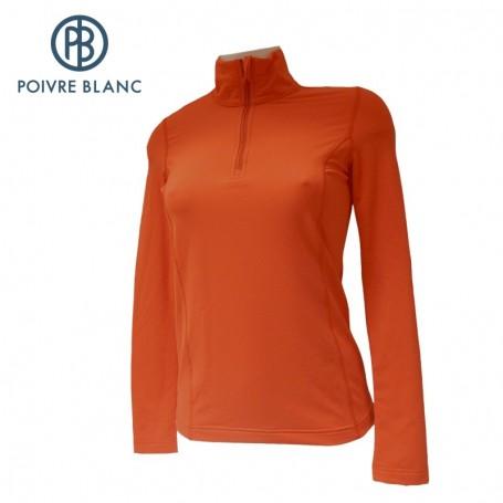 Maillot POIVRE BLANC W13-1940 WO Orange Femme