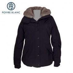 Veste de ski POIVRE BLANC W13-1002 WO/A Noir Femme