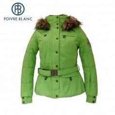 Blouson de ski POIVRE BLANC W13-1000 WO/A Vert Femme