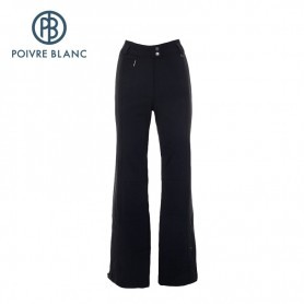 Pantalon de ski POIVRE BLANC Stretch Noir Femmes