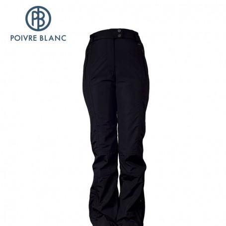 Pantalon de ski POIVRE BLANC W13-1020 WO Noir Femme