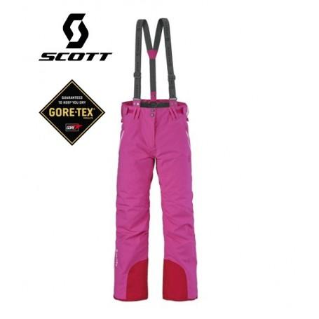 Pantalon de ski Gore-tex SCOTT Unltd Rose Femme