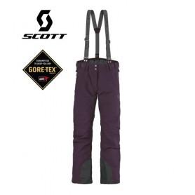 Pantalon de ski Gore-tex SCOTT Unltd Violet Femme