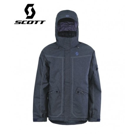 Veste de ski SCOTT Cohen Denim blue Homme