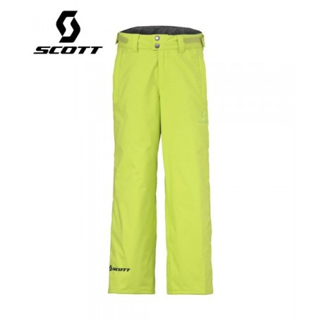 Pantalon de ski SCOTT Slope Citron vert Junior