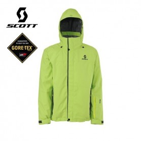 Veste de ski Gore-tex SCOTT Ralston green flash Homme
