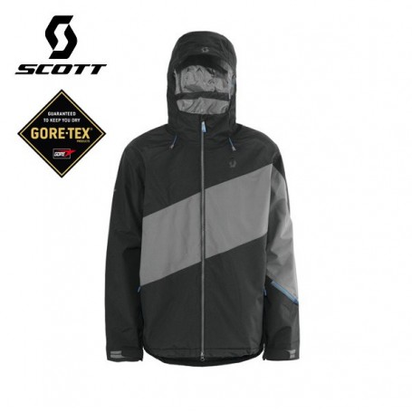 Veste de ski Gore-tex SCOTT Madden noir/gris Homme