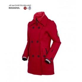 Manteau JC de CASTELBAJAC Wool Caban Femme