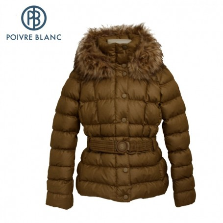 Doudoune POIVRE BLANC Down Jkt Or Fille