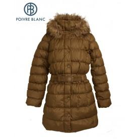 Manteau Duvet POIVRE BLANC Down Coat Or Fille