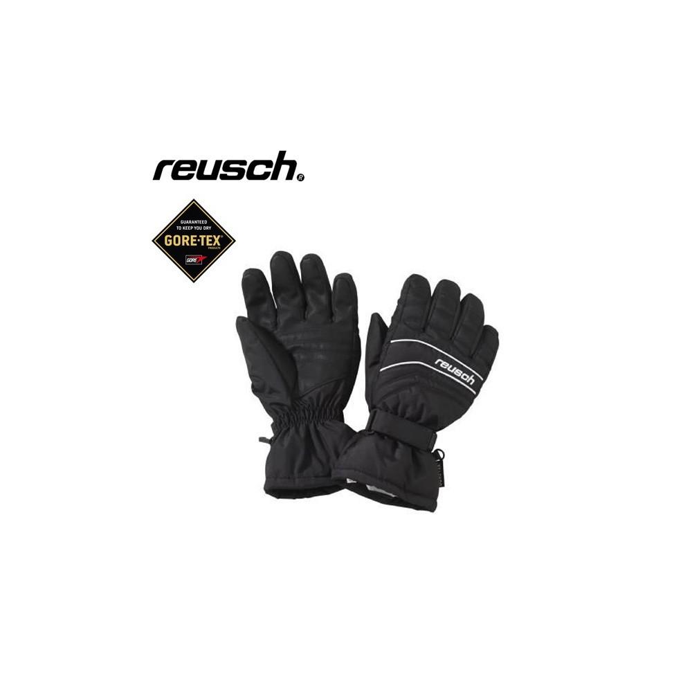gants de ski gtx reusch salerno noir homme sport a tout prix. Black Bedroom Furniture Sets. Home Design Ideas