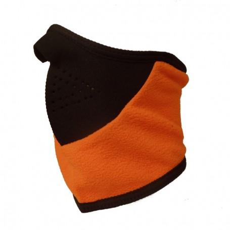Masque de protection pour le ski Noir/Orange Unisexe