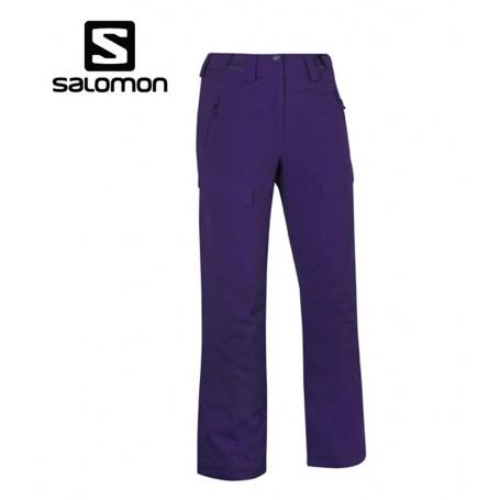 Pantalon de ski SALOMON Response II Violet Femme