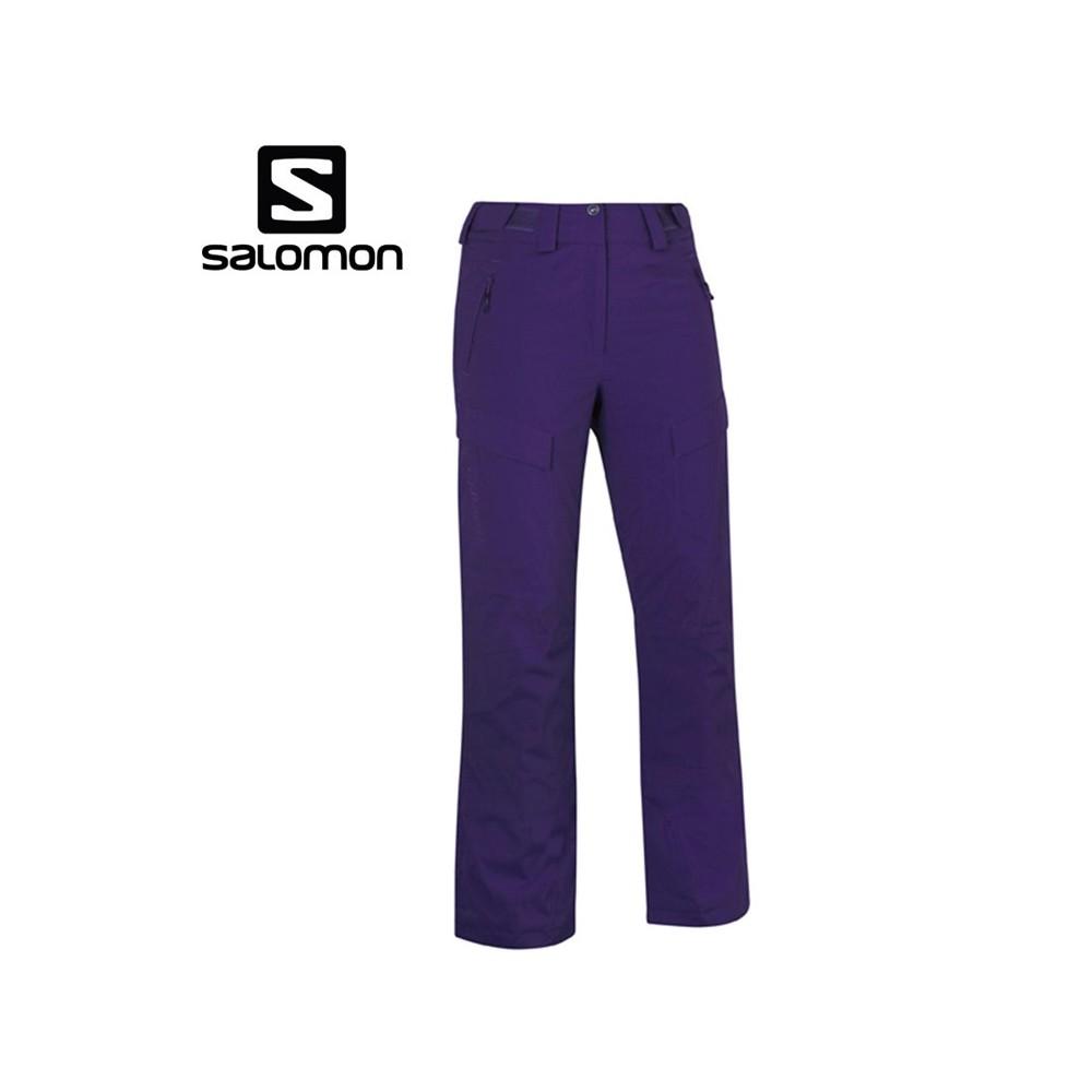 Pantalon de snow salomon pas cher