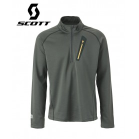 Pullover 1/2 zip SCOTT Four4 Anthracite Hommes