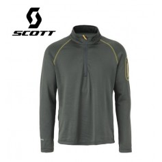 Pullover 1/2 zip SCOTT Two2 Anthracite Hommes