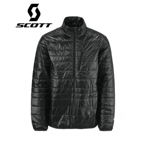 Veste 1/2 zip SCOTT Komati Noir Homme