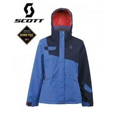 Veste de ski Gtx SCOTT Hollis80 Noir Iris / Bleu Femmes