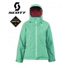 Veste de ski Gore-tex SCOTT Hollis100 Vert Femmes
