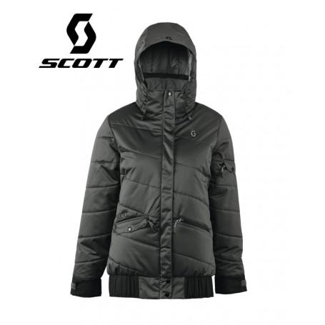 Doudoune de ski longue SCOTT Maisy Anthracite Femmes