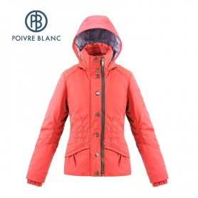Anorak de ski POIVRE BLANC WO Ski Jacket Corail Femmes