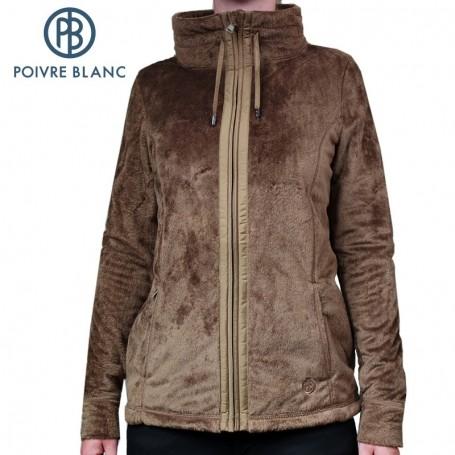 Veste polaire Poivre Blanc W14-1800 WO Miel Femmes