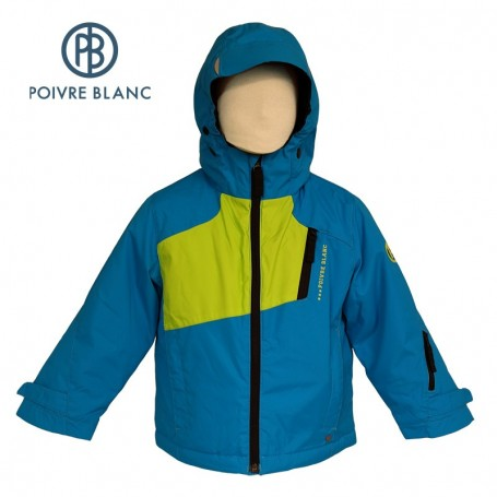 Veste de ski POIVRE BLANC W14-0901 BBBY Bleu BB Garçon