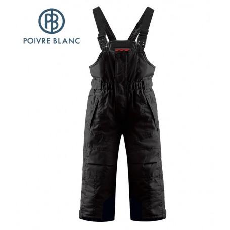 Salopette POIVRE BLANC W14-0924 BBBY Noir BB Garçon