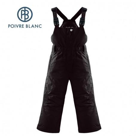 Salopette POIVRE BLANC W14-1024 BBGL Noir BB Filles