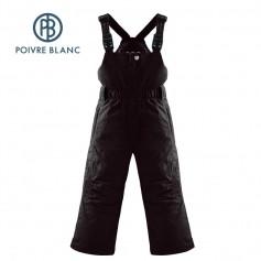 Salopette POIVRE BLANC Ski Bippant Noir BB Filles