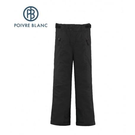 Pantalon POIVRE BLANC Ski Pant Noir Garçon