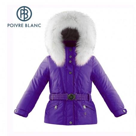 Veste de ski POIVRE BLANC W14-1000 BBGL/A Violet BB Filles