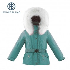 Veste de ski POIVRE BLANC W14-1000 BBGL/A Turquoise BB Filles