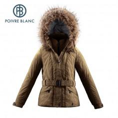 Veste de ski POIVRE BLANC JRGL/A Ski Jacket Miel Filles