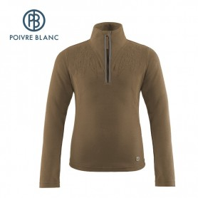 Polaire Poivre Blanc One side Fleece Miel Fille