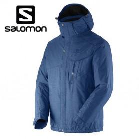 Veste de ski SALOMON Impulse Jkt Bleu Hommes