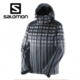 Veste de ski SALOMON Snowtrip Premium 3.1 Noir Hommes
