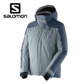 Veste de ski SALOMON Iceglory Jkt Gris Hommes