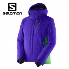 Veste de ski SALOMON Iceglory Jkt Violet Hommes